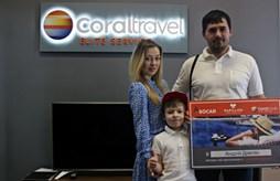 Первый победитель акции «Новый level отдыха от Coral Travel»