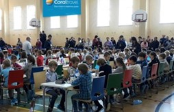 Coral Travel стал партнёром турнира по шахматам в школе «Президент»
