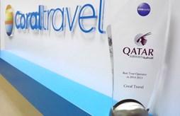 Туроператор Coral Travel - лучший туроператор-партнер авиакомпании Qatar Airways