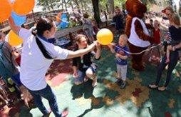 CORAL SUN FAMILY CLUB открыл курортный сезон на Карнавале-2015 в Геленджике!