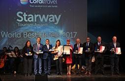 Starway World Best Hotels 2017 - Coral Travel наградил лучшие отели