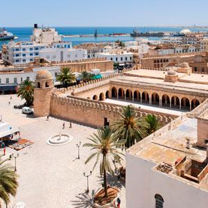 Восточный город Сусс. Тунис