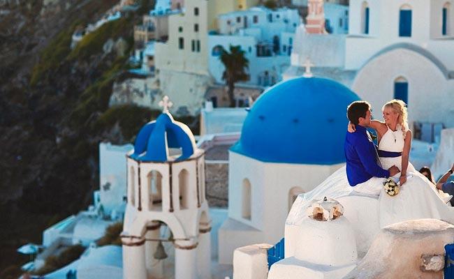 свадебные туры в греции