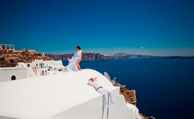 одно из лучших мест для проведения свадебной церемонии в греции